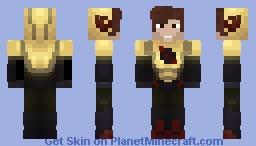 "Reverse Flash CW ""Maskless"" Eobard Thawne Minecraft Skin"
