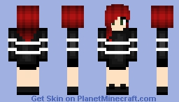 Cute sweater girl requested by CherriGumba on Skindex Minecraft Skin