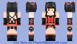 Kurumi Minecraft Skin