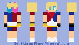 Harley Quinn Inspired!!  Minecraft Skin