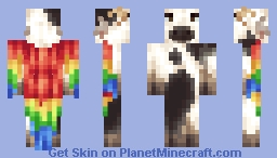 The Cow Parrot [Magic Skin Contest] Minecraft Skin