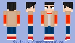 Hello Neighbor Protagonist Minecraft Skin