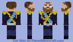 Tsar Nicolas II Minecraft Skin
