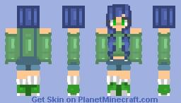 Overall I tried ~ HomeworldGeek Minecraft Skin
