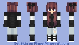You were comforting and quiet ♡ Minecraft Skin