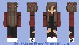 Hush girl ♡ Minecraft Skin