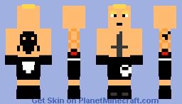 Brock Lesnar L WWE Minecraft Skin - Skin para minecraft pe wwe