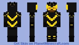 Bumblebee (Karen) (Dc) Minecraft Skin