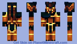 L'kallah - Ifrit of Thirecia Minecraft Skin