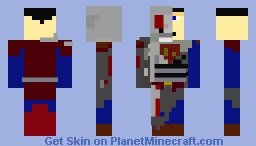 Cyborg Superman Minecraft Skin