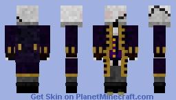 The_Darkness_One (Purple Robe) (Scar) (Shaded) (2016) Minecraft Skin