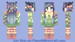Christmas Tree Deer kablamo (Actual face reveal) Minecraft Skin