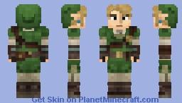 Link (Contest with tragafluk!) Minecraft