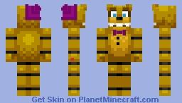 Fredbear Minecraft