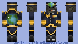 Harambe, Protector of the Earth Minecraft Skin