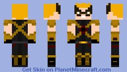 HawkMan (Carter) (Dc) Minecraft Skin