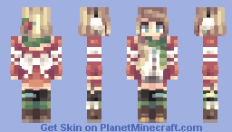 Holiday Cheer Minecraft Skin