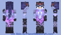 "Overwatch - Amélie ""Widowmaker"" Lacroix Minecraft"