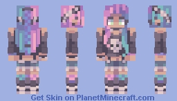 Skull Candy (Different Skin Tones and Templates in desc) Minecraft Skin