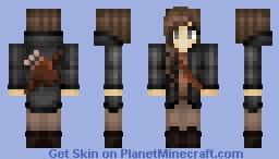 Katniss Everdeen [Remake] Minecraft Skin