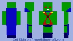 MartianManhunter (John) (Dc) Minecraft Skin