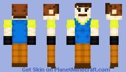 Mr. Wilson (Hello Neighbor) Minecraft Skin