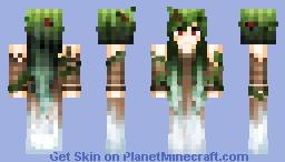 Mistletoe | Desc for details. Minecraft Skin