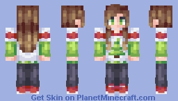 A Casual Christmas Minecraft Skin