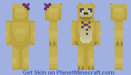 Fredbear Plush - FNAF Minecraft Skin