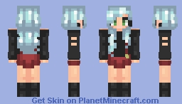 A failed christmas skin Minecraft Skin