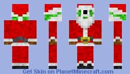 Santa-Impostor Minecraft Skin