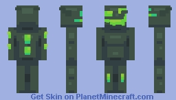 Acid Monster (Remade) Minecraft Skin