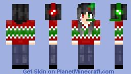 Female Christmas skin 2016 Minecraft Skin