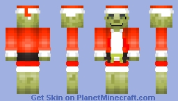 The Grinch (Detailed Color Mix) (Jim carrey) Minecraft Skin