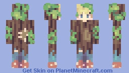 Twigs Minecraft Skin