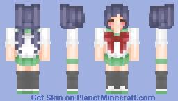 ☆ Gakkou Gurashi ☆ Inspired Anime School Girl Minecraft