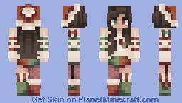 ♥ - Naughty Or Nice? Minecraft Skin