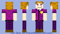 Afton Robotics (Scooped alts in the description) Minecraft Skin