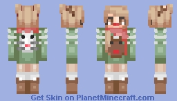 What Does the Reindeer Say? (Alt Versions in the Desc) Minecraft Skin