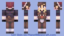 Riding Rudolph Minecraft Skin