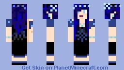 Winter Lady CrystalusAurora Minecraft Skin