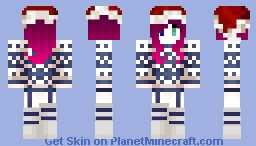 Xmas Girl Minecraft Skin