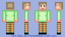 Christmas elf Minecraft Skin
