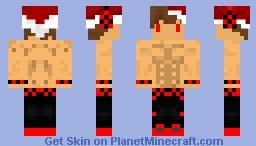 Christmas Style Skin - Minecraft Priime - YouTubePriime - Kian 6Pack