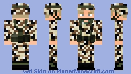 Gulf war 1991 - U.S army Minecraft Skin
