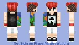i don't believe my ears & i'm scared of my own head ♪ Minecraft Skin