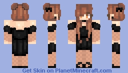 Mc Black Elegant |kyraye Minecraft