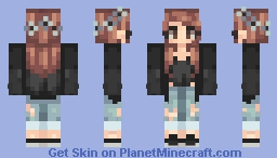personal skin that doesnt represent me at all Minecraft Skin