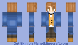 """Request From ItzShadox  """"Newt Scamander"""" Minecraft Skin"""