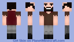 Notch - modified version Minecraft Skin